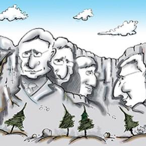 A politikai karikatúrák humoros és retorikai elemei