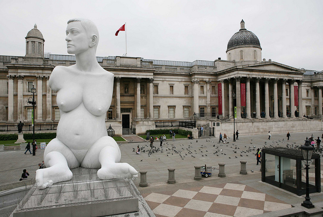 Marc Quinn: Alison Lapper Pregnant (2005) © Greater London Authority