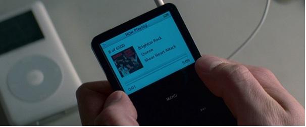 """Baby """"killer track""""-je, a Queentől a Brighton Rock, Baby egy újabb típusú iPodjának kijelzőjén"""