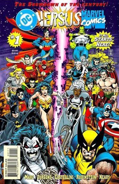 <em>DC versus Marvel Comics</em>