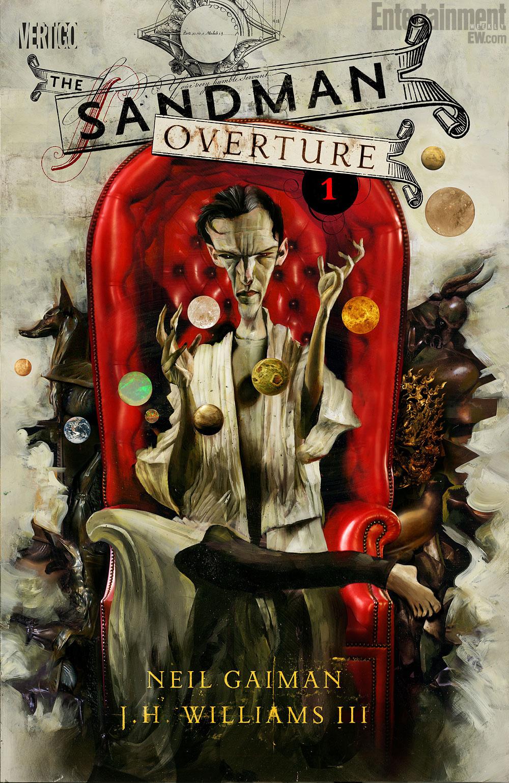 <em>Sandman – Overture.</em> Dave Mckean borítóterve