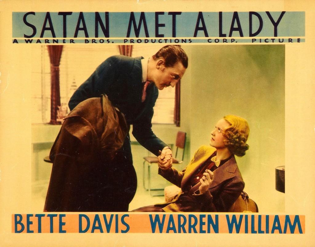 Satan Met a Lady (William Dieterle, 1936)
