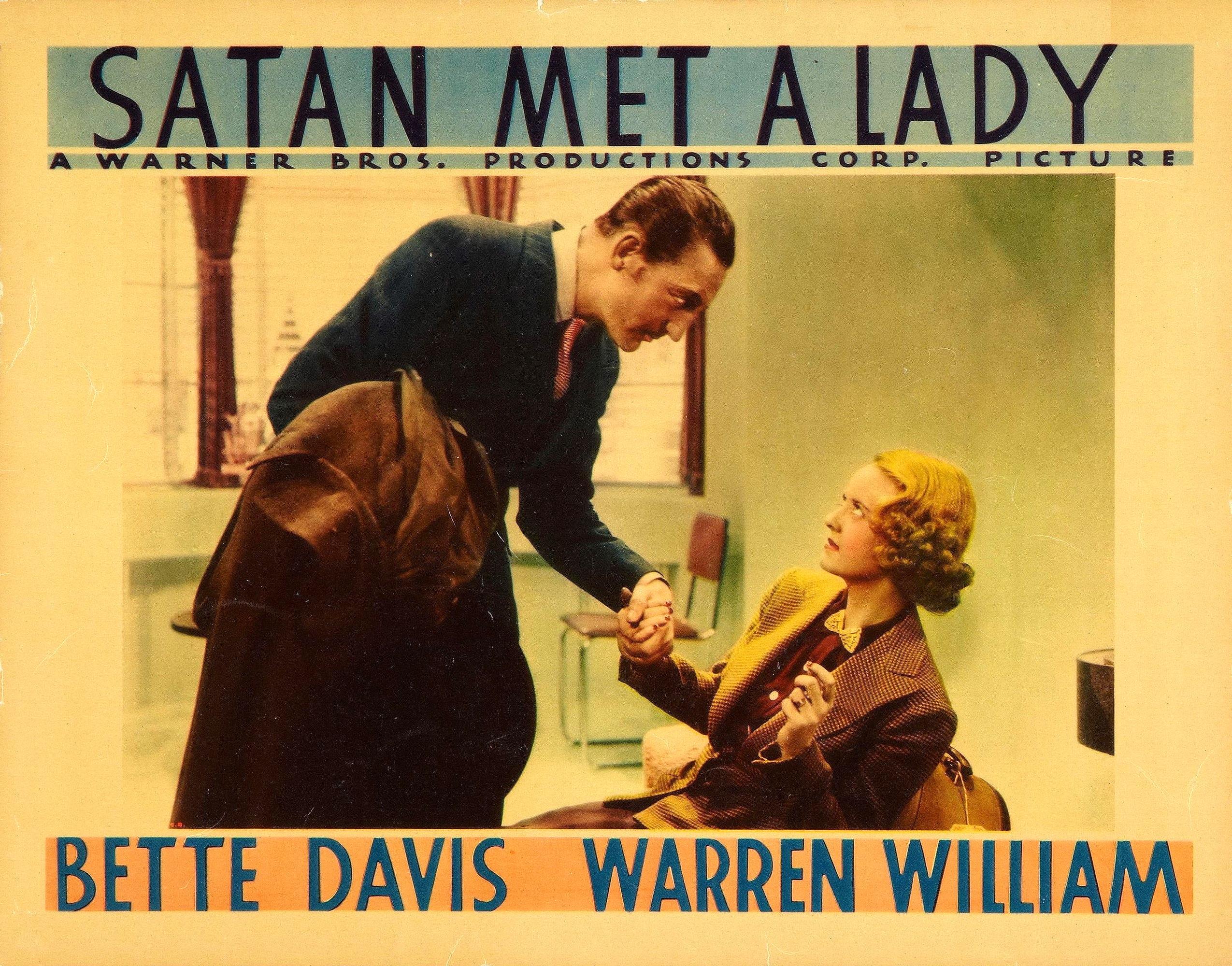 Az 1939 es varso szines filmen 458 - Satan Met A Lady William Dieterle 1936