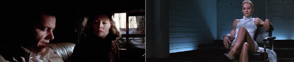 Kínai negyed (Chinatown. Roman Polanski, 1974); Elemi ösztön (Basic Instinct. Paul Verhoeven, 1992)