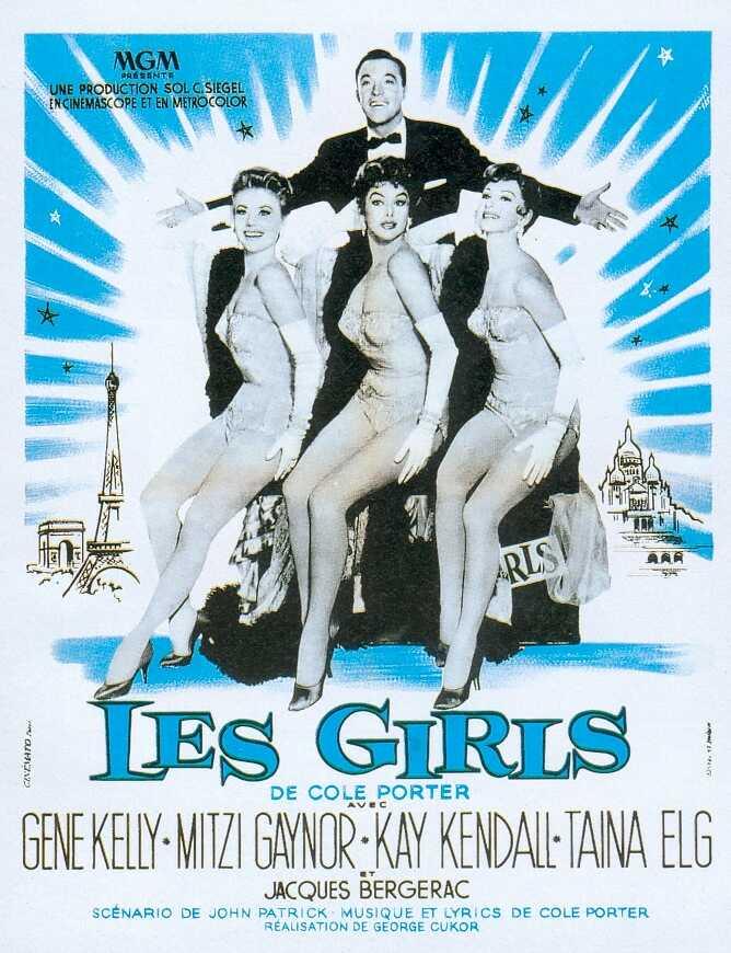 A lányok (Les Girls. George Cukor, 1957)