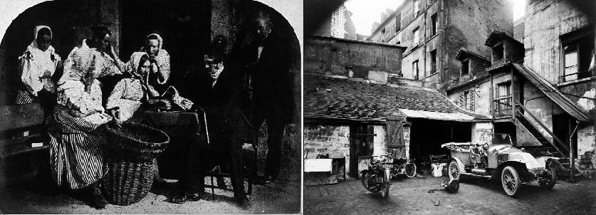 David O. Hill és Eugène Atget fotográfiái