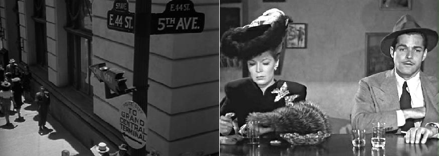 Nő az ablak mögött (The Woman in the Window. Fritz Lang, 1944); A rejtélyes asszony (Phantom Lady. Robert Siodmak, 1944)