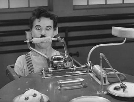 Modern idők (Modern Times. Charlie Chaplin, 1936)