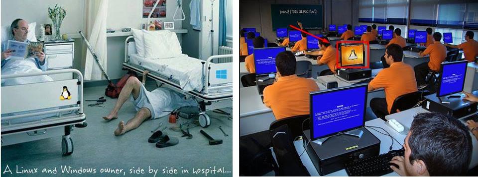 Manipulált képek az Ubuntu-csoportban