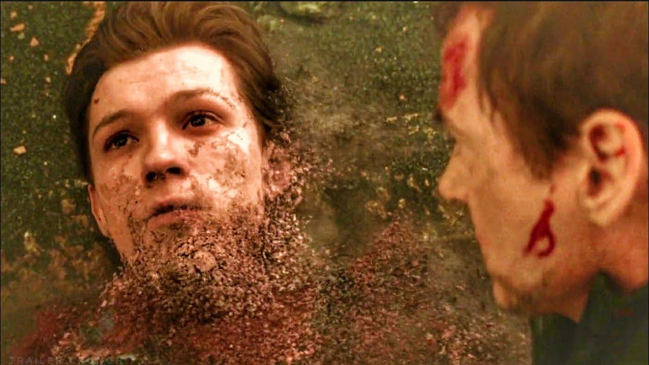 1. ábra Thanosz egy csettintéssel porrá oszlatja a galaxis lakosainak felét a<em> Bosszúállók: Végtelen háború</em>ban.