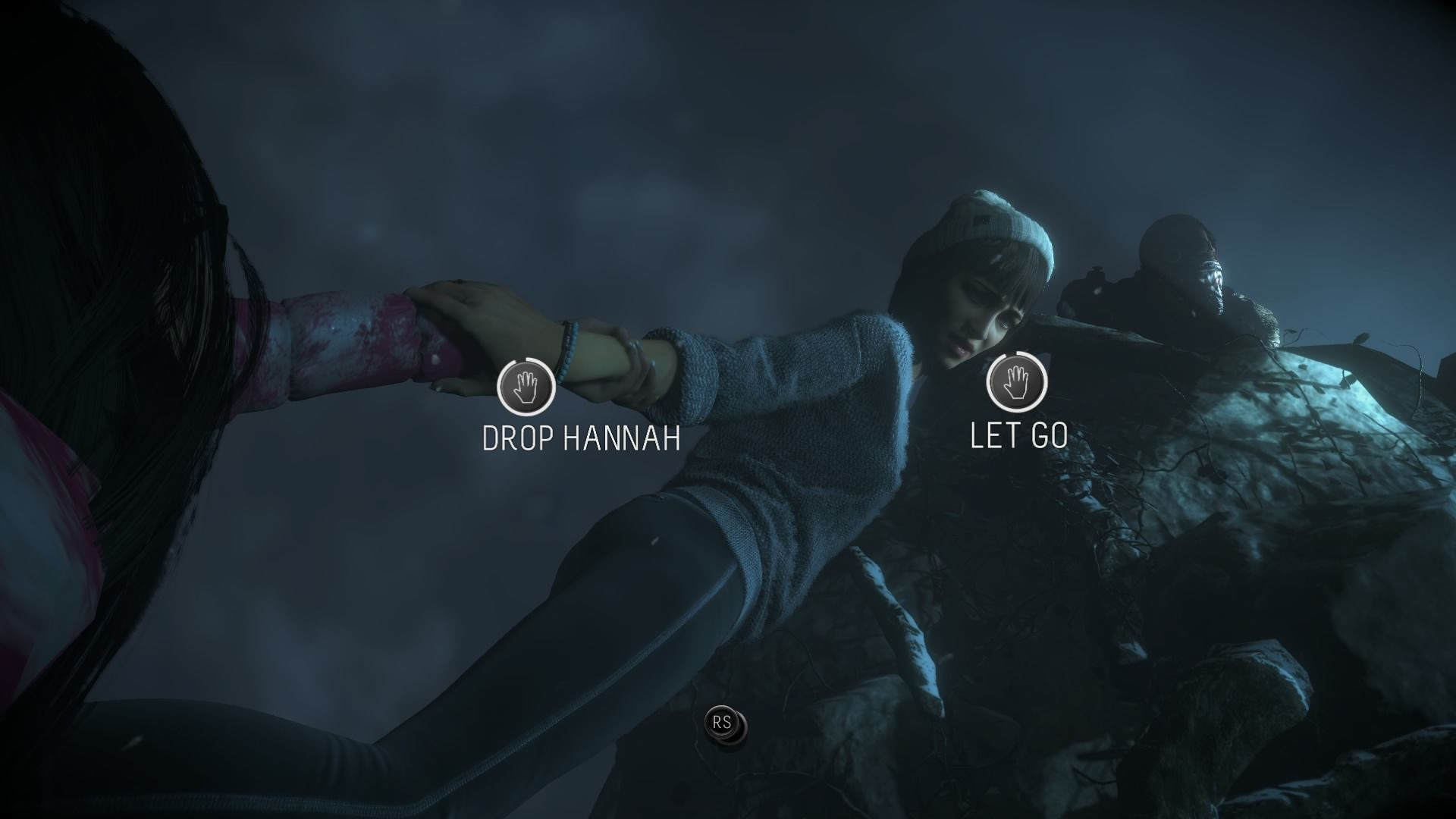 A játékos egyszerre befogadója és aktív alakítója a narratívának, gyakran élet-halál döntéseket hozva (<em>Until Dawn</em>)