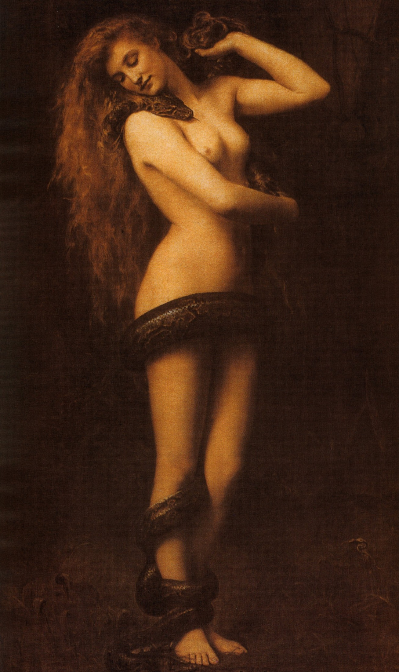 John Collier: Lilith (1892)