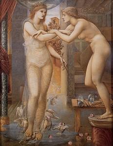 Edward Burne-Jones: Pygmalion and The Image III. The Godhead Fires