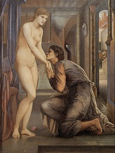 Edward Burne-Jones: Pygmalion and The Image IV. The Soul Attains