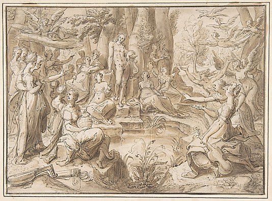 Karel van Mander: The Challenge of the Pierides