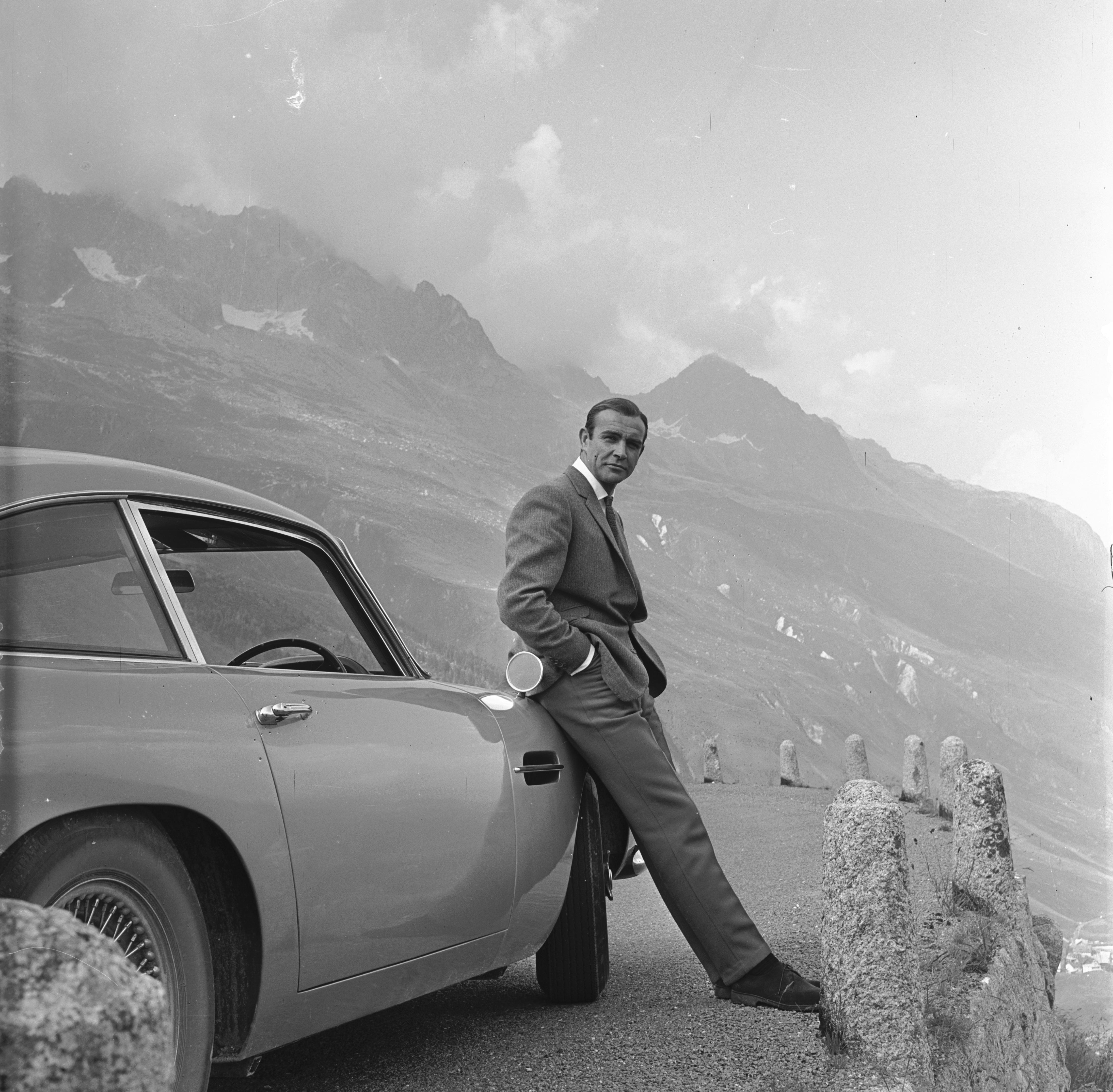 Sean Connery és az Aston Martin