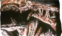 A szörny (Sigourney Weaver) az Alien című filmben.