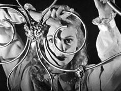 A nő (Janet Leigh) alakja, többféleképpen A gonosz érintésében (Orson Welles, 1958)