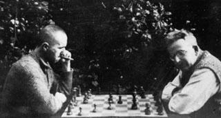 Bertold Brecht és Walter Benjamin