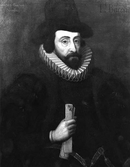 Francis Bacon (1561-1626) portréja (1600 körül)