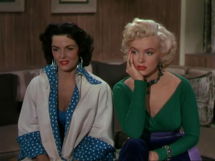 Jane Russel és Marilyn Monroe