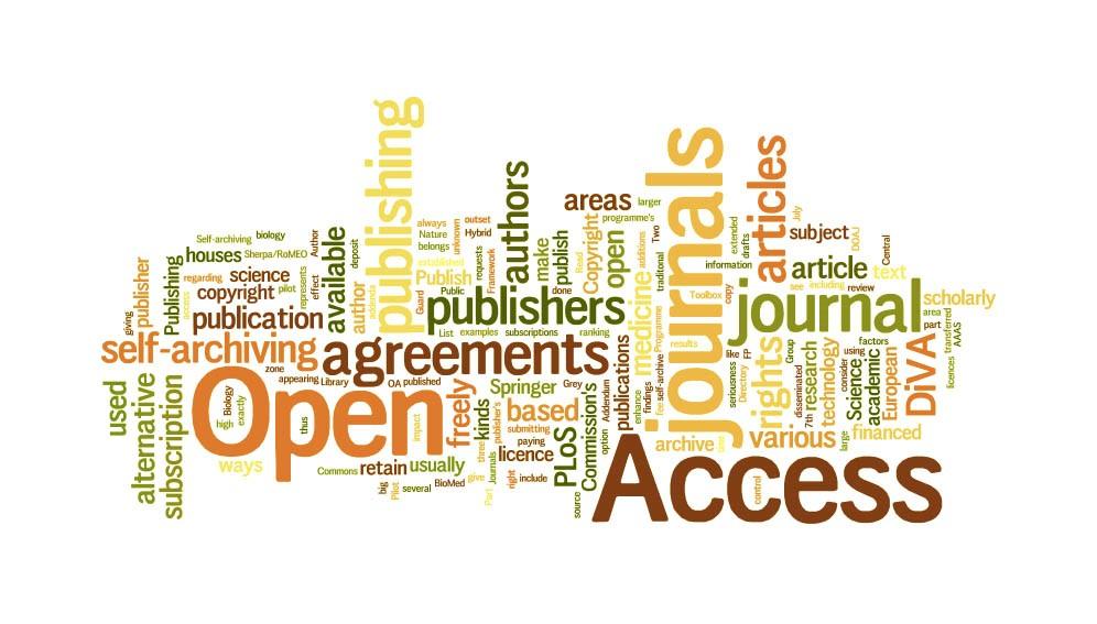 Az Open Access forrásokkal kapcsolatos fogalmak asszociációja