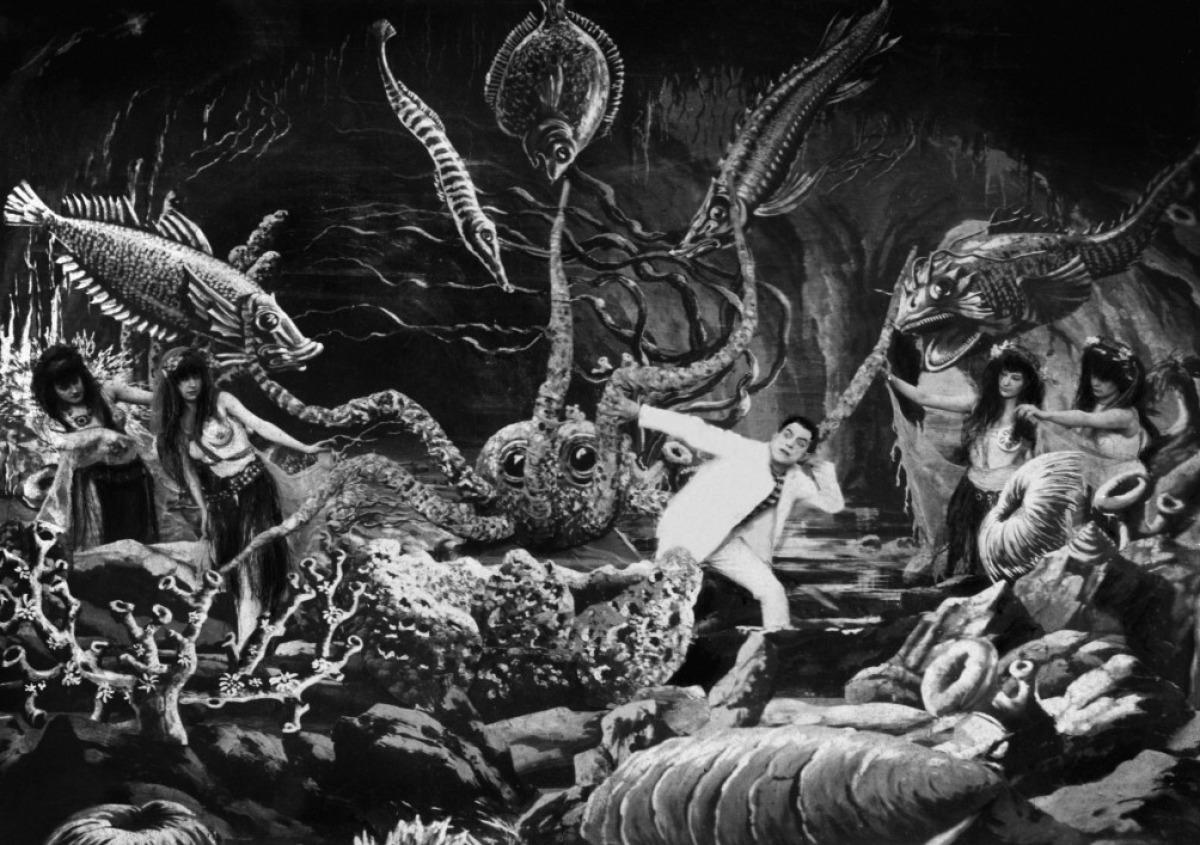 4. Kép - Deux Cents Milles sous les mers ou le Cauchemar du pêcheur (Georges Méliès, 1907)