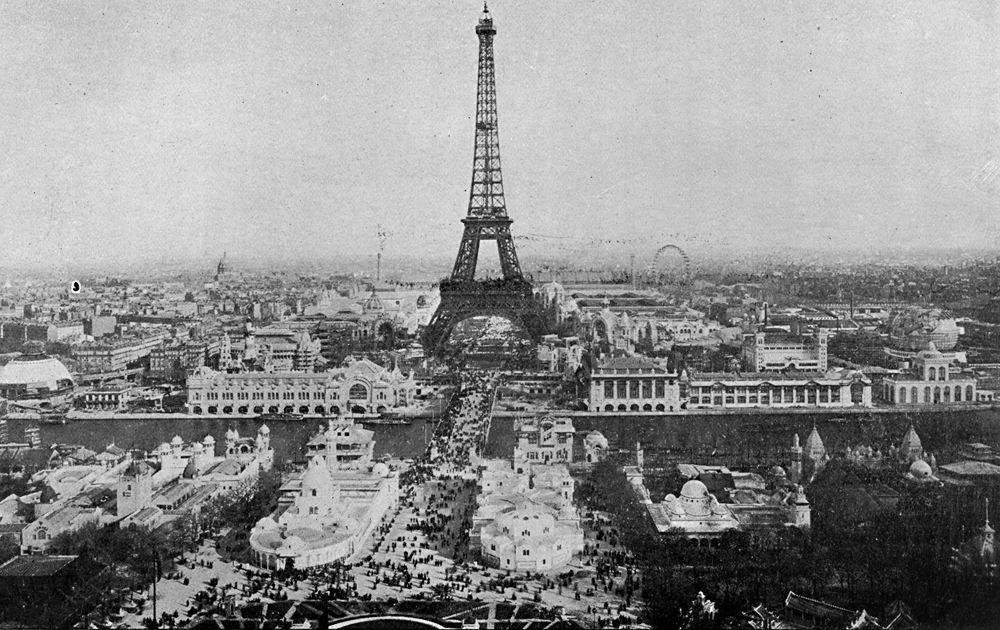 Párizs az 1889-es világkiállítás idején