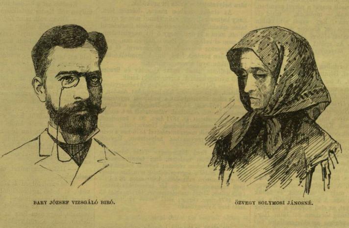 """A Vasárnapi újság 1883. június 24-i számának képi illusztrációi (""""Ábrányi Lajos eredeti rajzai után"""")."""