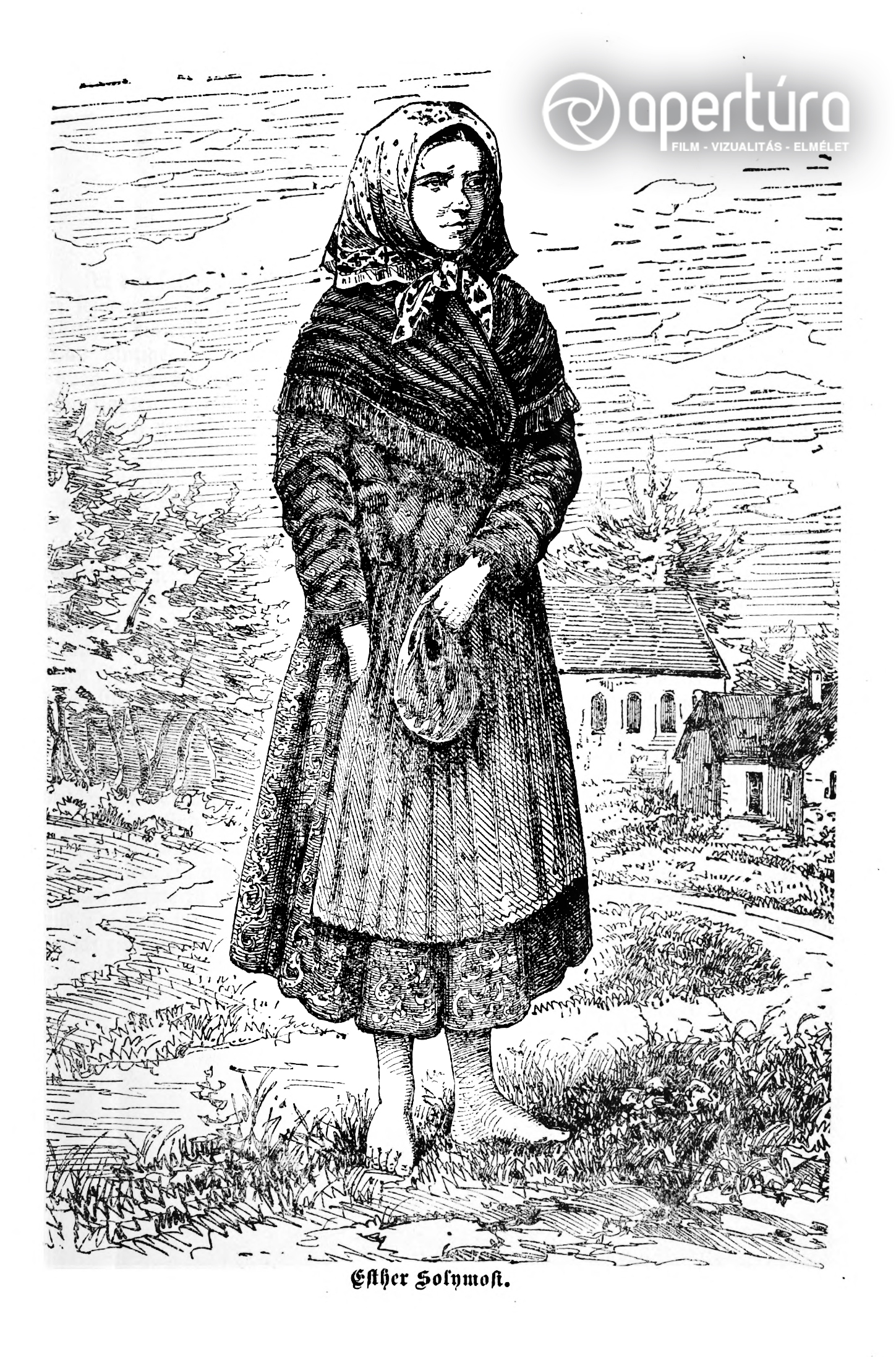 Ismeretlen rajzoló: Solymosi Eszter, 1883. Megjelent: Der Blutprozess von Tisza Eszlár in Ungarn. New York, Schnitzer bros., 1883. s. p