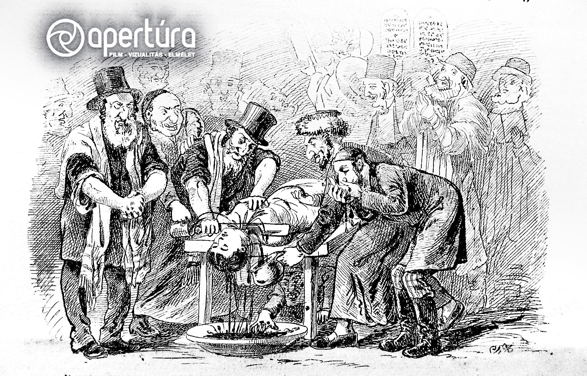 A tiszaeszlári vérvád: kép és propaganda   Apertúra