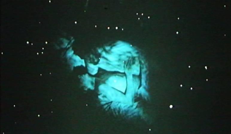 6. kép: Kozmikus távlatok (<em>Nárcisz és Psyché</em>. Bódy Gábor, 1980)