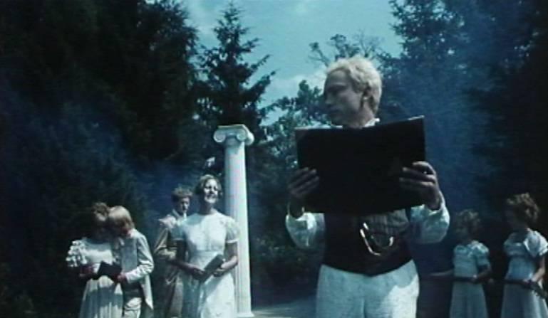 7. kép: A narcisztikus-szolipszista művész (<em>Nárcisz és Psyché</em>. Bódy Gábor, 1980)