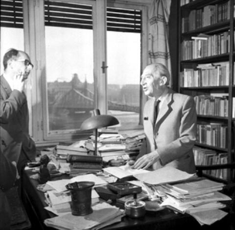 Lukács György és Rényi Péter