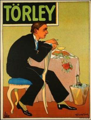 Faragó Géza: Törley-plakát, 1909. (Forrás: Nagyváthy).