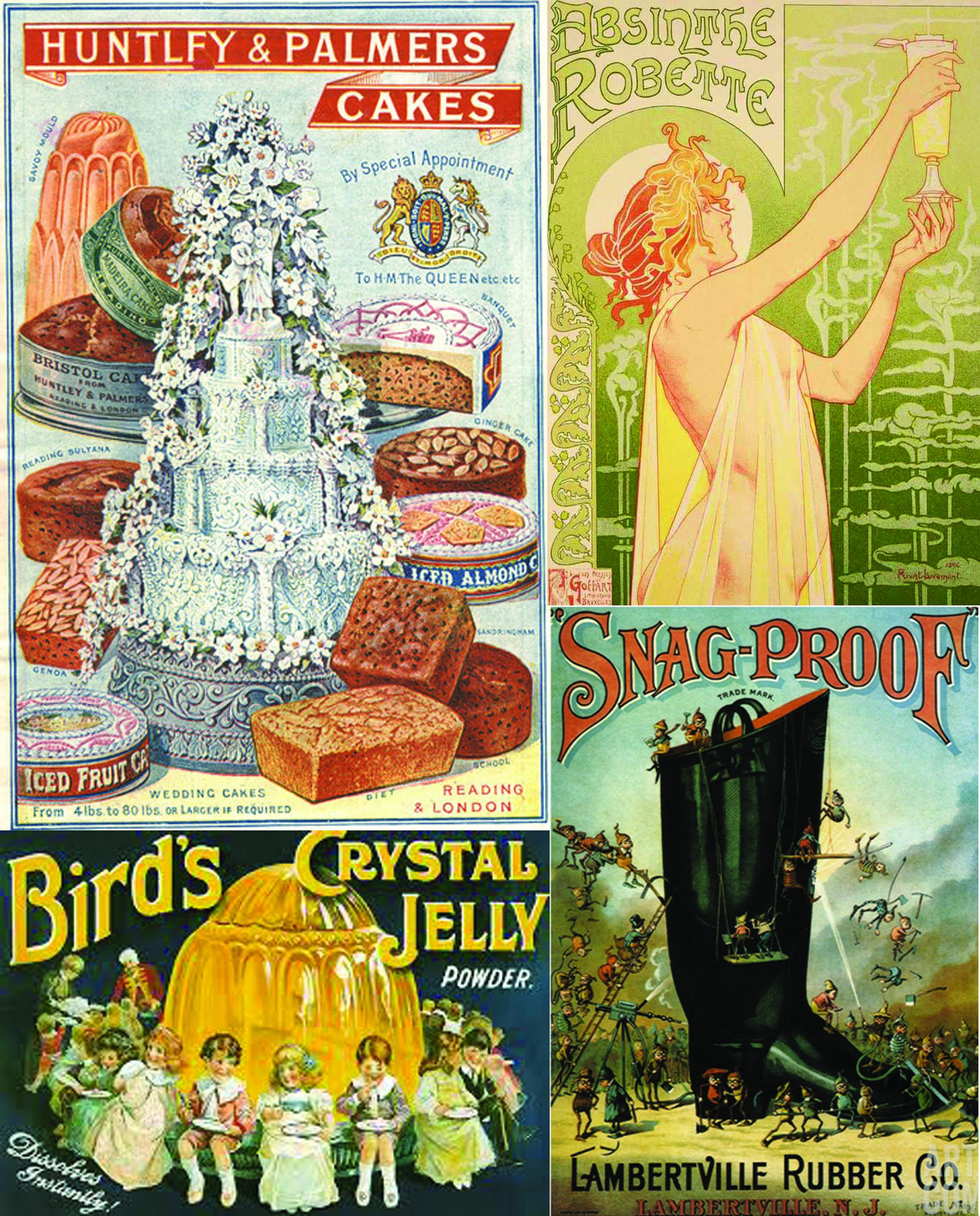 XIX. század végi plakátok