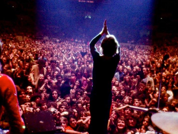 Mick Jagger a Gimme Shelterben
