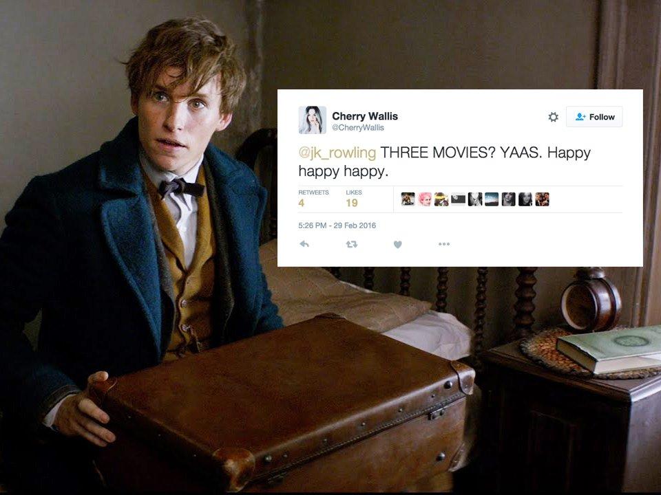 Rowling a Twitteren