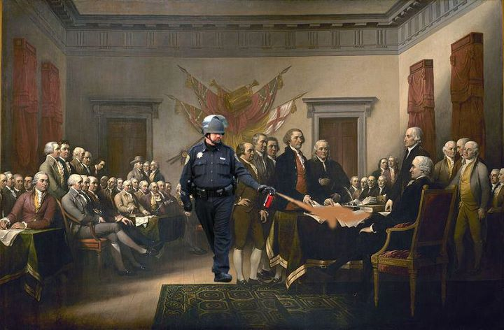 A Paprika spray-s zsaru és a Függetlenségi Nyilatkozat