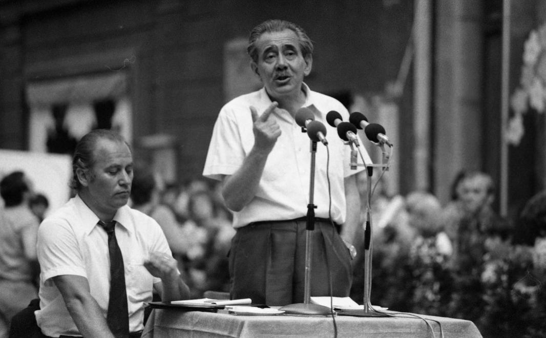 1.kép Aczél György a kultúrpolitika emblematikus figurája (1978) [Forrás: Fortepan]