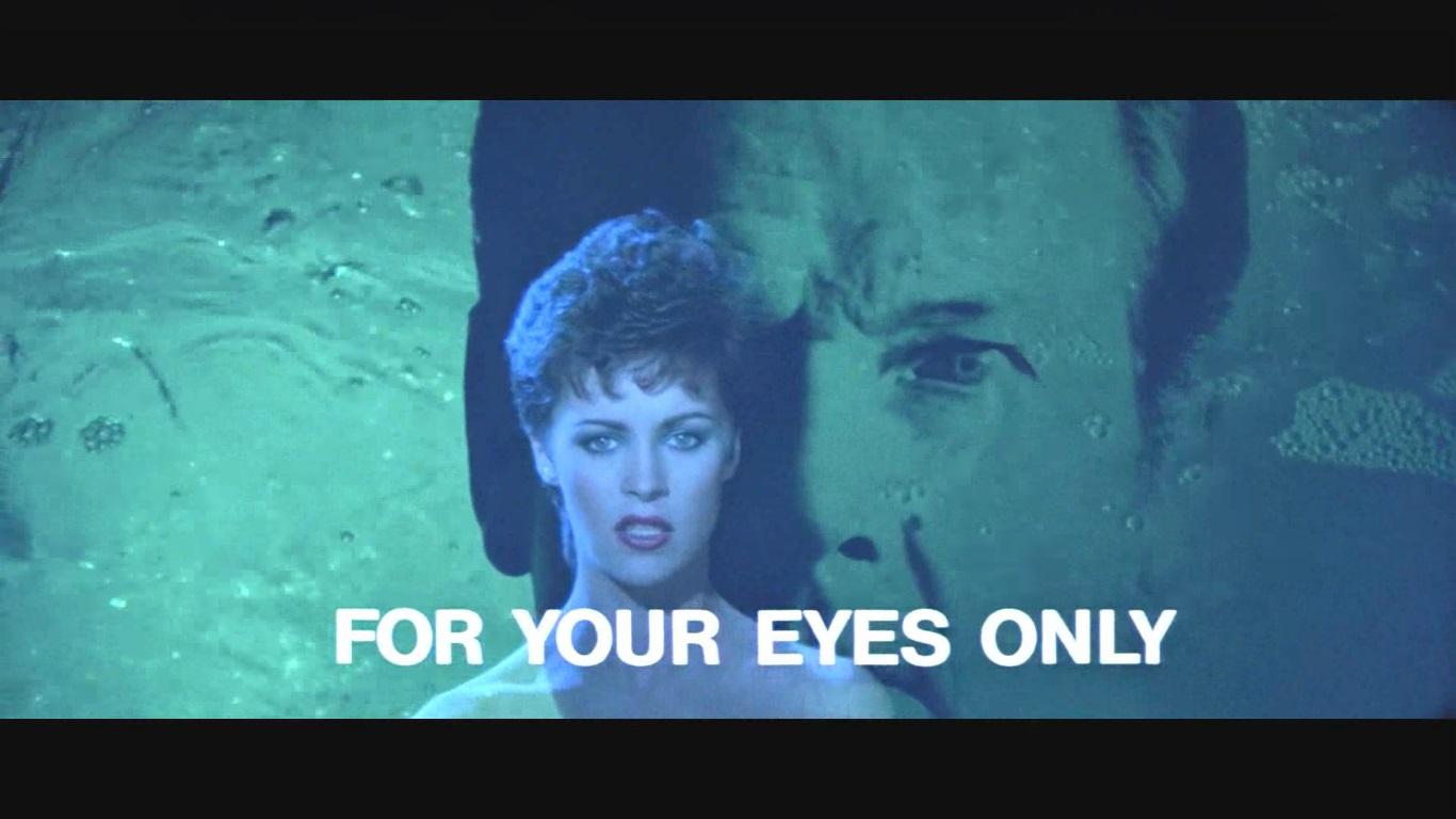 Sheena Easton és Roger Moore egymásra vetített arca
