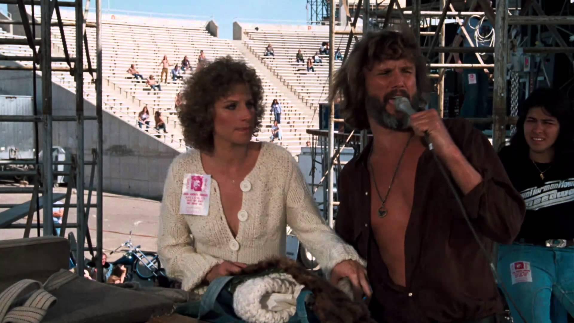 Felemelkedés és bukás a popszakmában – <em>Csillag születik</em> (1976), Barbra Streisand-Kris Kristofferson