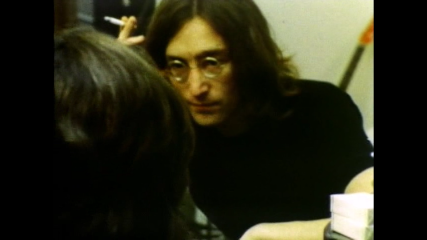 Lennon és McCartney a <em>Let It Be</em>ben