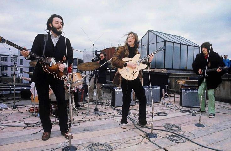 A <em>Let It Be</em>t lezáró tetőkoncert
