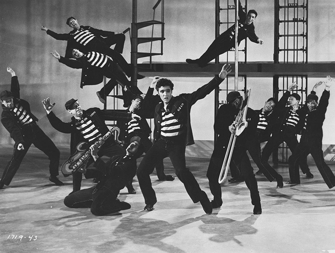 Elvis Presley a <em>Börtönrock</em>ban (Jailhouse Rock. Richard Thorpe, 1957.)