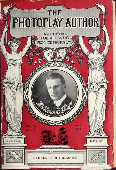 <em>The Photoplay Author</em>, 1914-1915, forgatókönyvíróknak szánt folyóirat (forrás: Internet Archive)