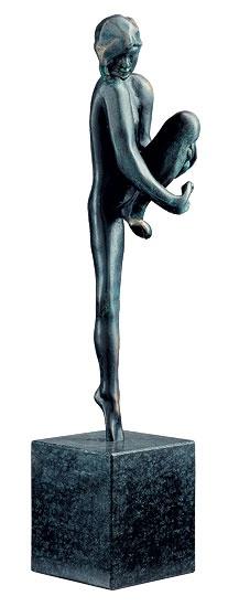 Rodin: Táncmozdulat, 1910