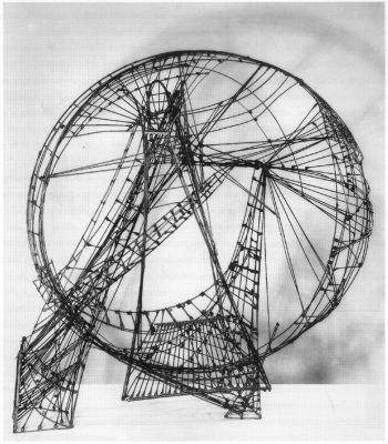 Constant Nieuwenhuys: <em>Het Ruimtecircus</em>, 1958.