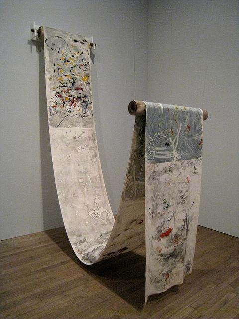 Pint Gallizio: <em>Industrial Painting</em>, 1958.