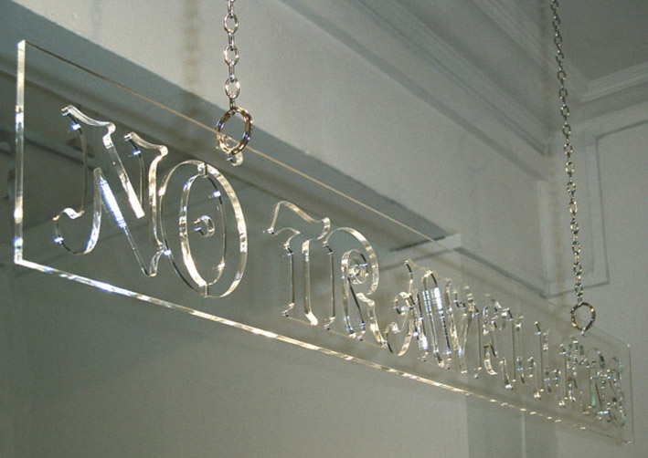 Daniel Baker: <em>Clear Sign</em>, 2007.